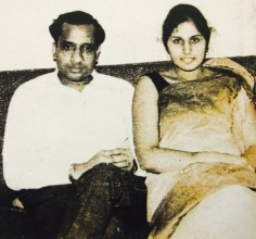 Daadi, in her early years of her marriage